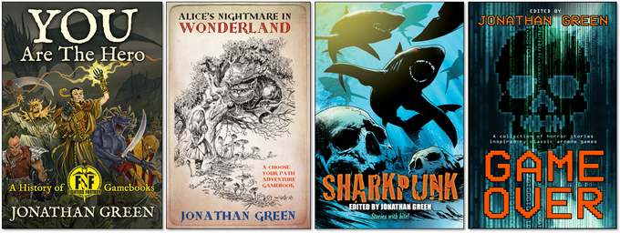 Books written and edited by Jonathan Green.