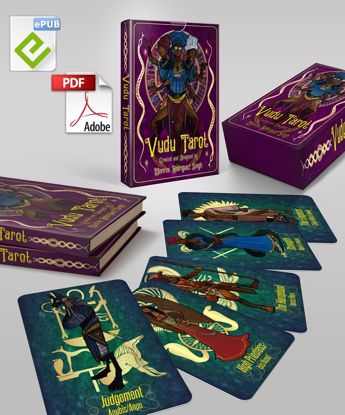 Magnetic Lid Box, Limited Edition Deck Tuckbox, Digital and Hardcopy Guidebook, 5 Limited Edition Cards, Artbook
