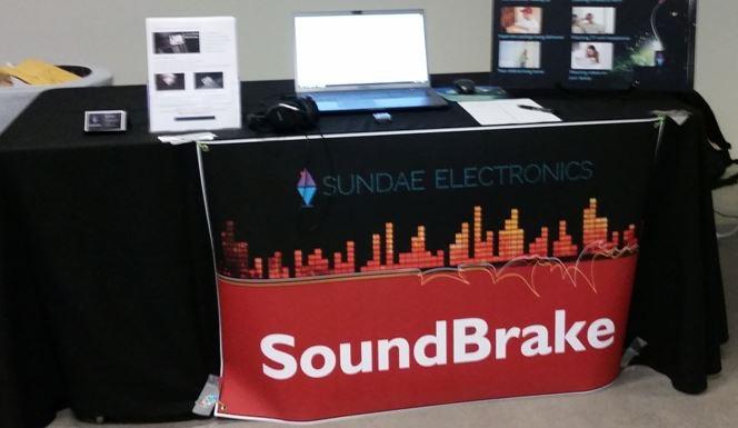 SoundBrake Demo Table