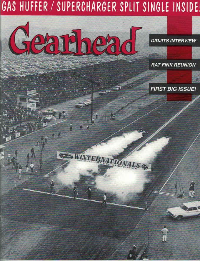Cover of Gearhead issue #1, 1993