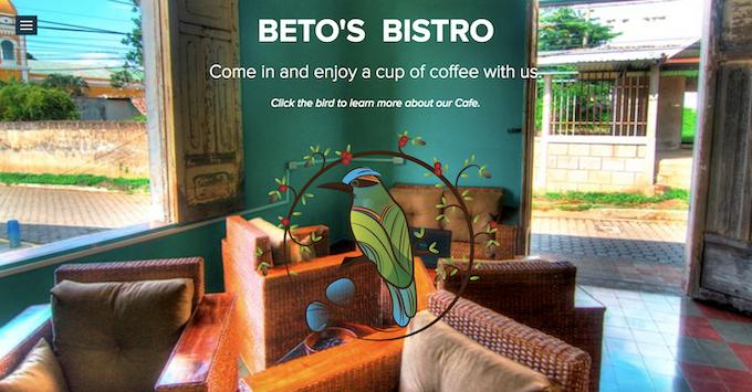 BETO'S BISTRO IN 2013 - MASATEPE