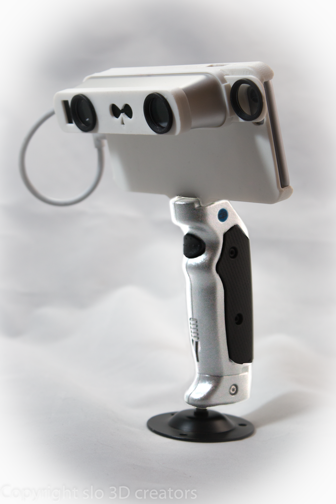 NEODiMOUNT 3D Scanning System with the Occipital Structure sensor and the Grip&Shoot handle