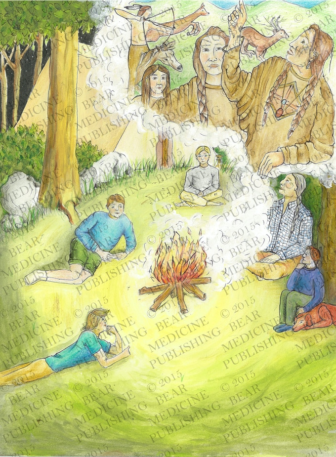 """Family camping trips are among my favorite childhood memories. As we sat around the fire in the cool of the evening, my grandfather told us the stories of our ancestors gathering around the fire."""