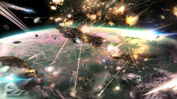 A tantalizing glimpse of the experience we'll be providing in Infinity: Battlescape