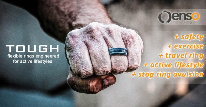 the safest most versatile wedding ring on the planet by enso rings
