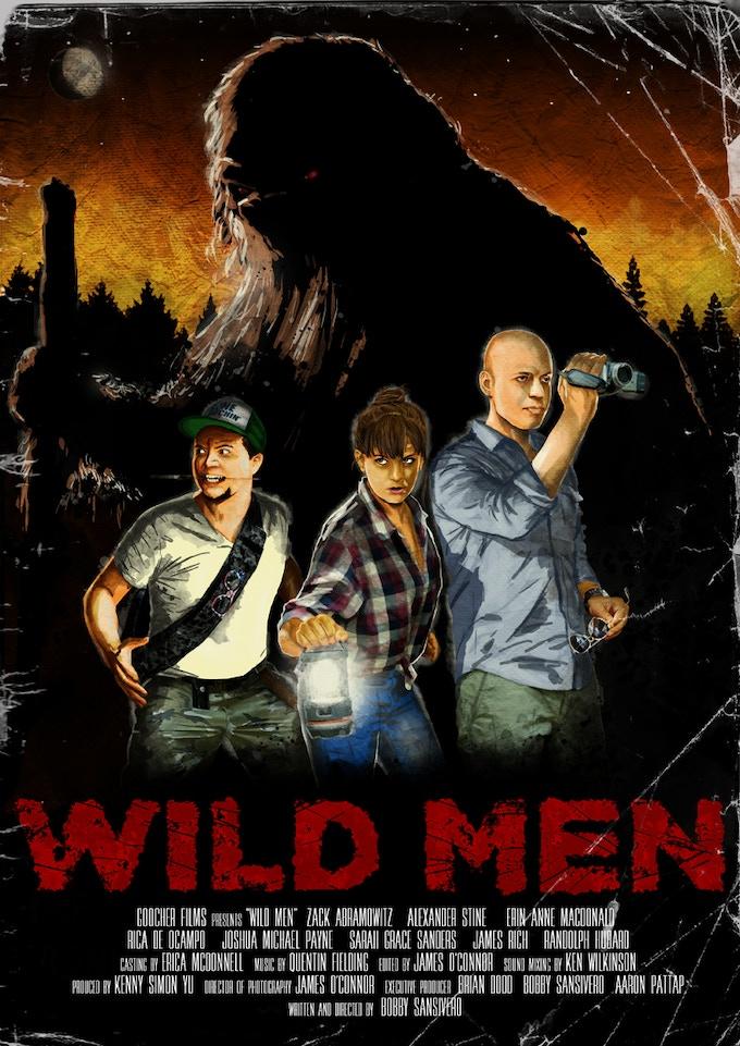 'Wild Men' - Original Poster Art