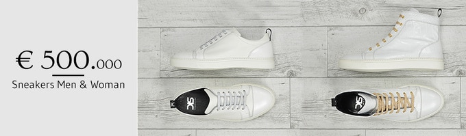 Customised Sneakers Line for Men & Woman!