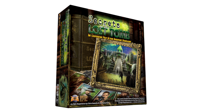 The New 2nd Printing Core Game Box! Includes new updated Rulebook and Scenario Guide! :)