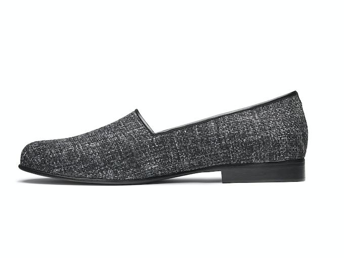 Whitby - storm grey tweed