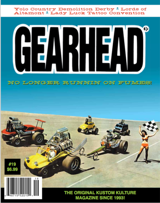 The Big Reveal! Cover of Gearhead Magazine #19!
