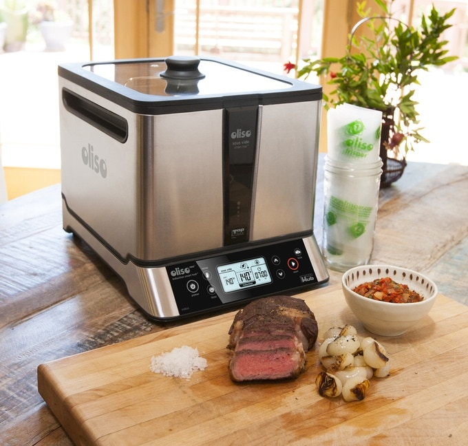 Sous vide and sear the perfect steak