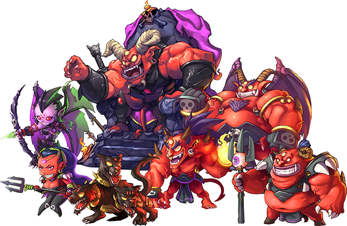 The Monsters of Inferno!