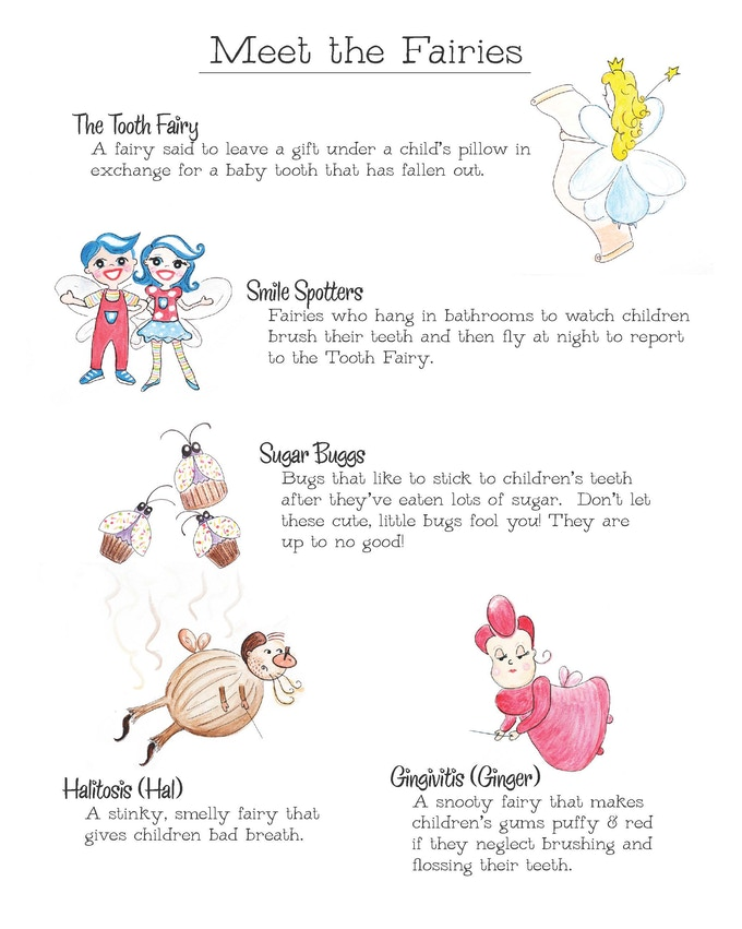 Smile Spotters, A Tooth Fairy Tradition by Wren Smith Anderson