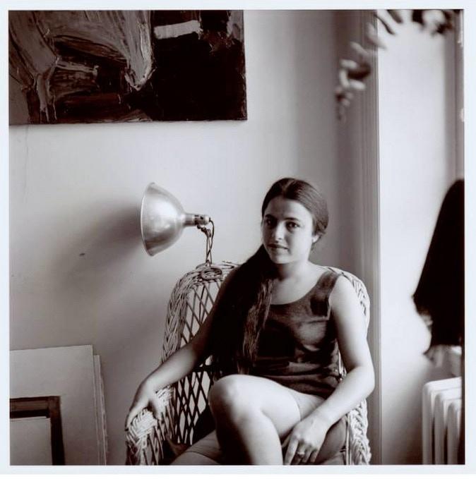 Eva Hesse, 1959  photo by Stephen Korbet