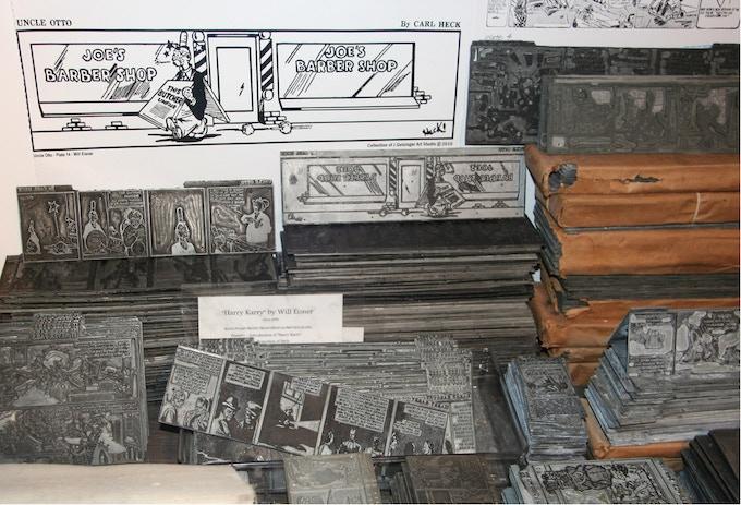 Getsinger's Heck/Rensie/Eisner printing plates.