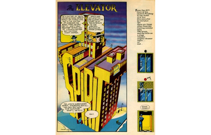 Will Eisner's THE SPIRIT, the series which would become his calling card.
