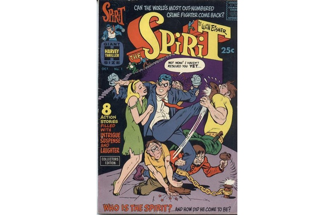 Will Eisner's THE SPIRIT would build on the action and comedy of his cartooning in HARRY KARRY and UNCLE OTTO.