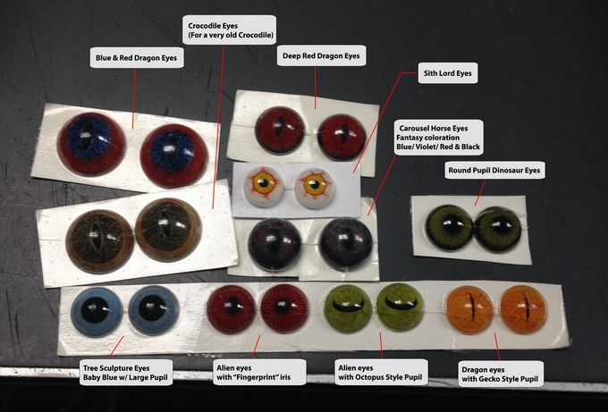 We're going to go out on a limb here and venture to say that 'Big Fur' is the first project in the history of Kickstarter that includes hand-crafted glass eyes as rewards. Cross our hearts...