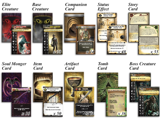 233 CARDS INCLUDED IN THE CORE GAME!
