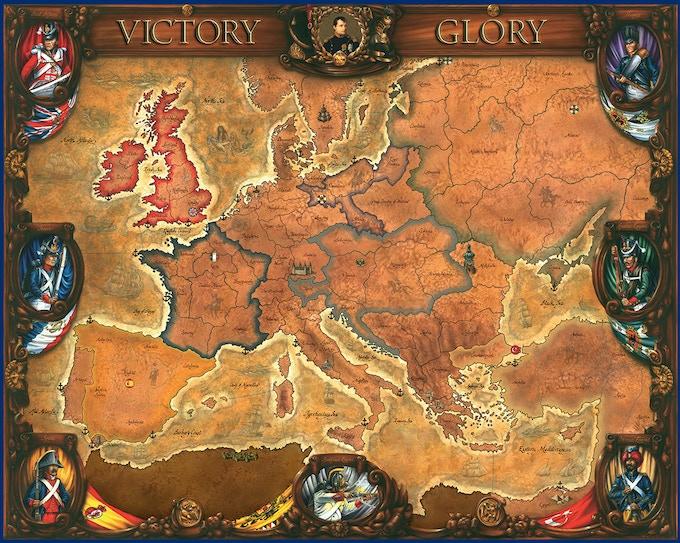 "Huge game board. (45""x36"", 114 cmx91cm)"