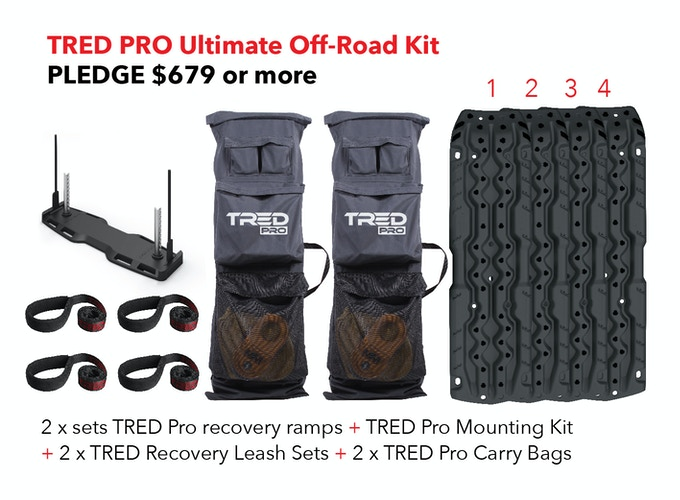 TRED PRO ULTIMATE OFF-ROAD KIT