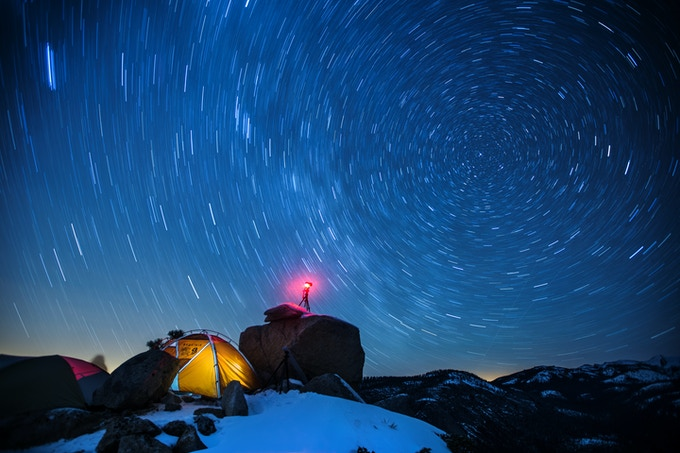 Get epic star trails with Pulse's Long Exposure feature!