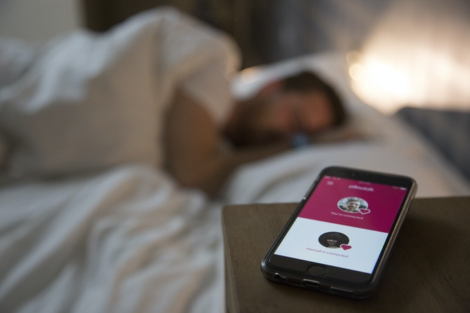 Lie in bed and feel connected. Never worry again about rolling onto your laptop as you try and sleep with Skype open!
