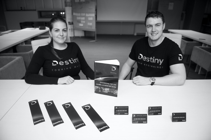 Destiny Book, Origin cards, Bookmarks, T-shirts and Long-Sleeve T-Shirt