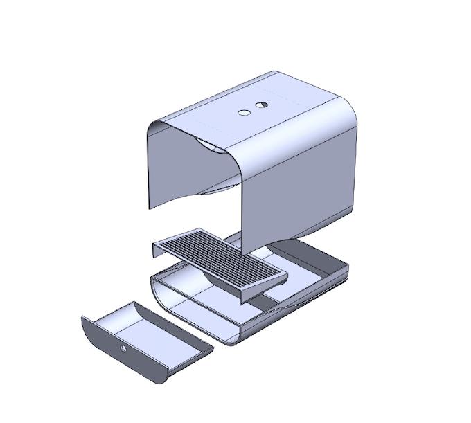 Original rendering for the Grand PooBox