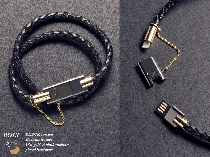 Bolt Stylish Iphone Bracelet Charger By Charles Darius