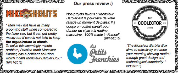 Our First Press Review (11/10/15)