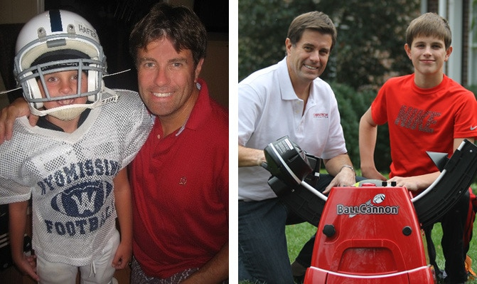 2008 • Fred and his son, Peter • 2015
