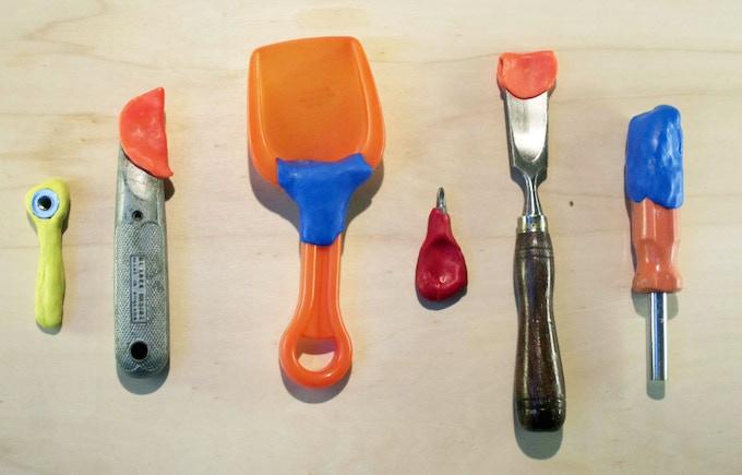 Make tool covers...fix plastic shovels...