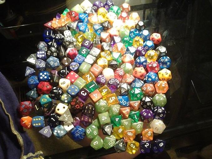 dumped dice