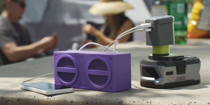 Enjoy your Bluetooth speaker for DAYS, not minutes.