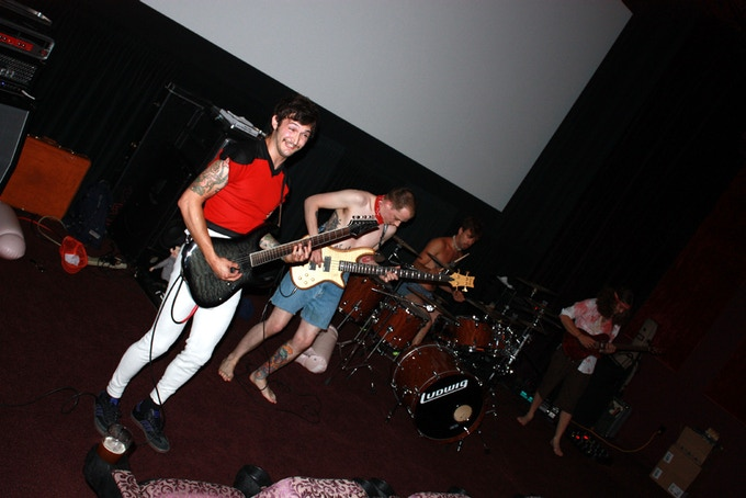 """Barefoot Barnacle rock the 2010 """"Comedy of Horrors"""" Film Fest."""