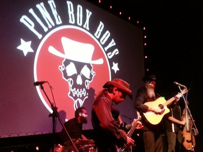 The Pine Box Boys killin' it at the 2015 BoneBat Film Fest