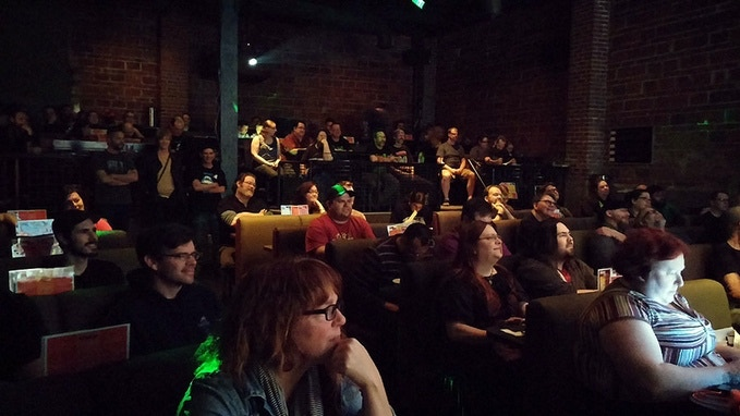 Audience at the 2014 Bonebat Film Fest!