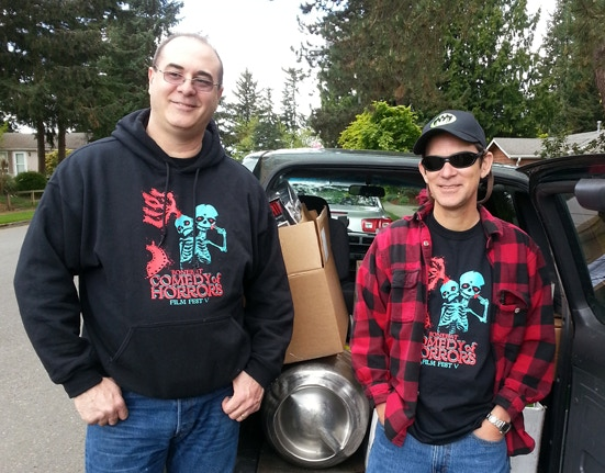 Steve and Gord load up for the 2015 edition.