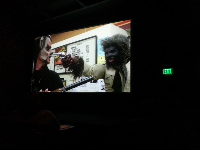 Wolf Cop on the big screen at BBFF 2015!