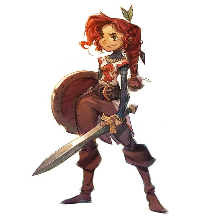 Character Design Masters : Maid marion the heroine of our story she is a formidable