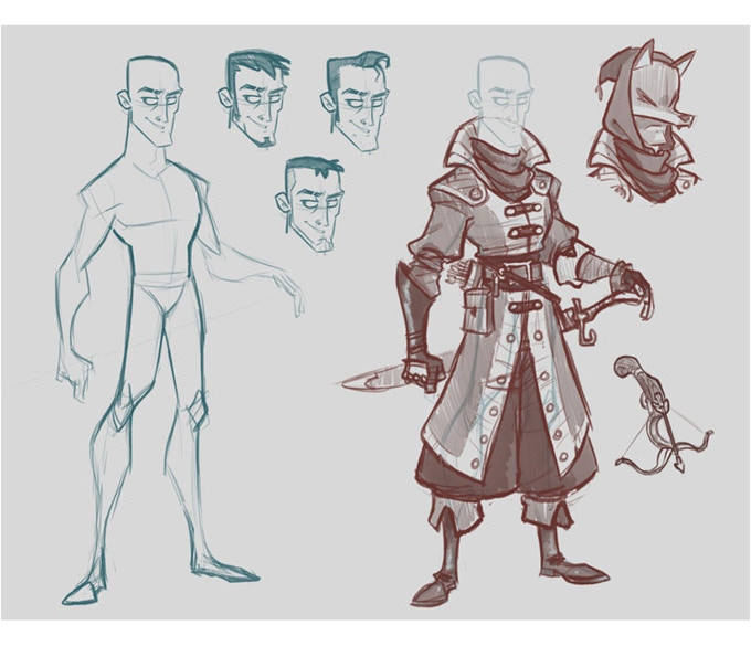 Picture Book Character Design : The designs are finally coming together as shown in this