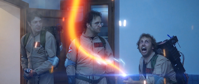 Trust us: we are Ghostbusters!