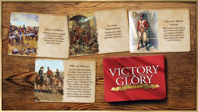 Example of British Event Cards