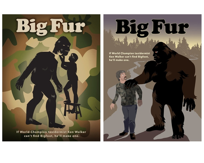 Official Big Fur posters. We're still refining these, they'll be more official when they're finished.