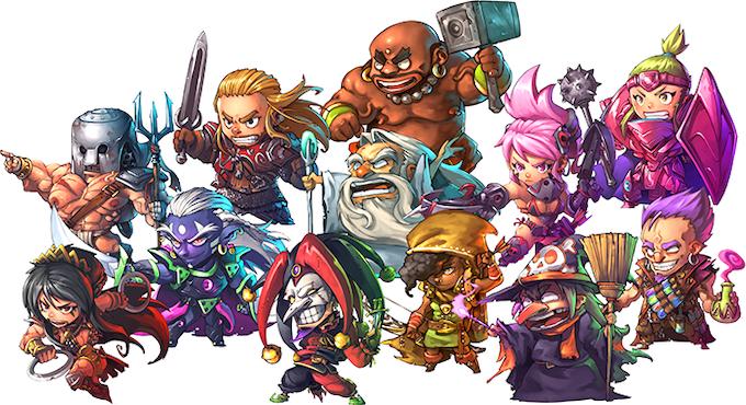 The Heroes of Arcadia!