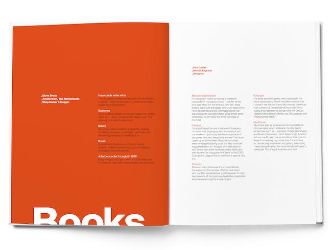 Giova Brusa / Rich Carter, double page spread