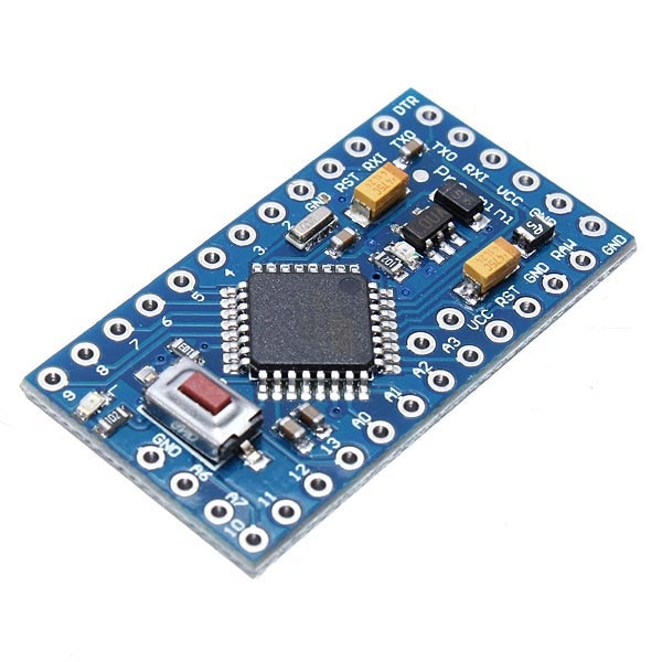 Use this version of Pro Mini board (3.3v or 5v). Note the A6-A7 pins