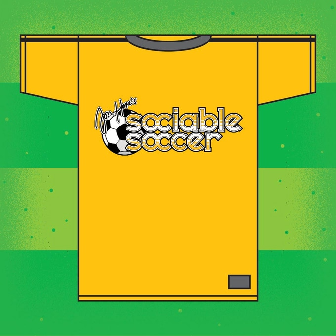 Back our 'GET THE SHIRT' tier for an  exclusive Sociable Soccer football shirt!