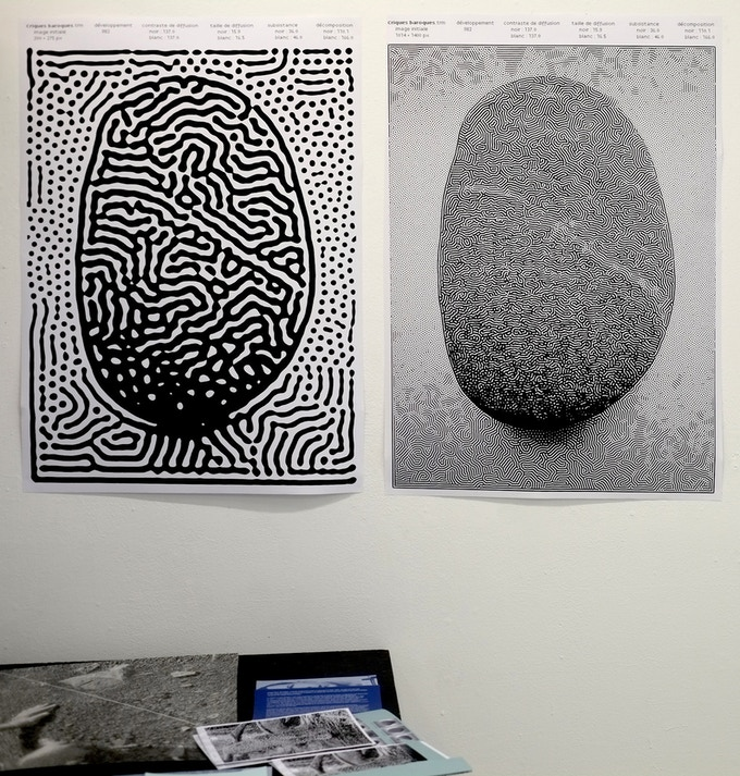 digital printed